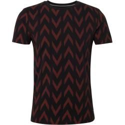 Tom Tailor Herren T-Shirt mit Print, grau, unifarben mit Print, Gr.M Tom TailorTom Tailor #stylishmen