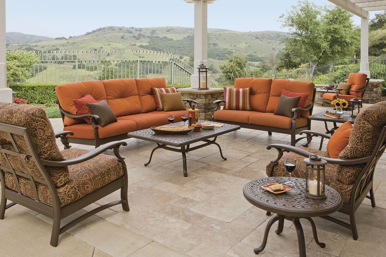 High Quality The RELAXplus® Ravello Cushions Are Created By Famed Designer Robert  Mainville. These Cushioned Sectionals · Patio Chair ...