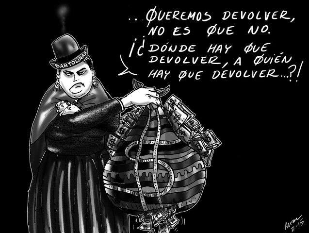 Resultado de imagen para corrupción bolivia