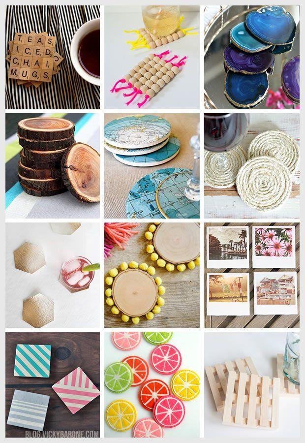 Things I Love: DIY Coasters