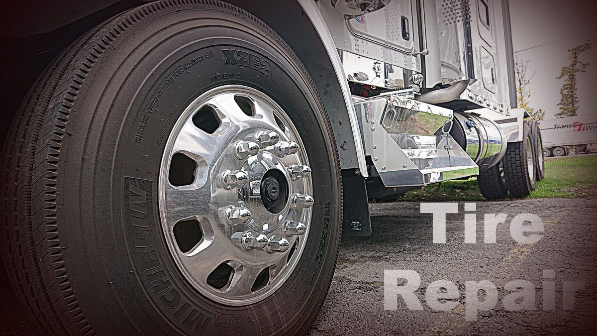 Tire Repair Services. All types of tractor trailer tires