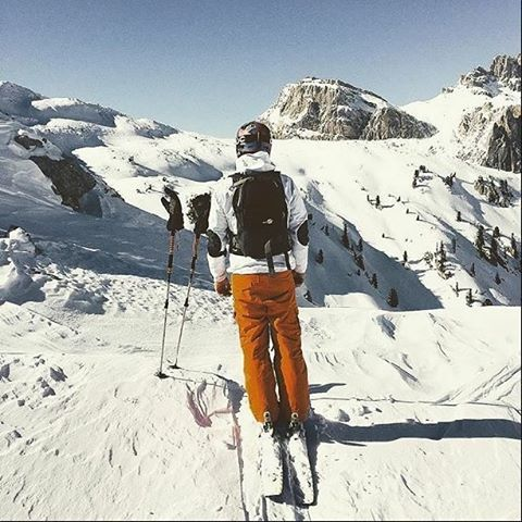 Hill Outdoor — FreeRide house  #backcountry in #cortinadampezzo ...