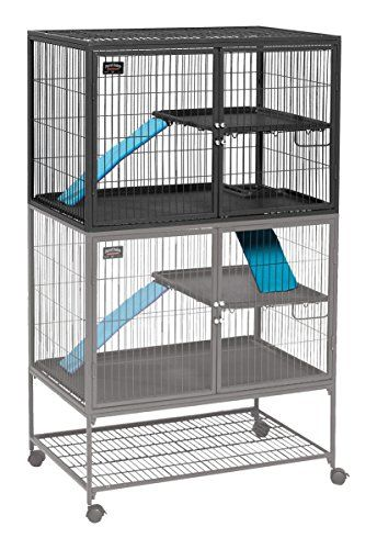 midwest homes for pets ferret nation single unit addon cage 183 http