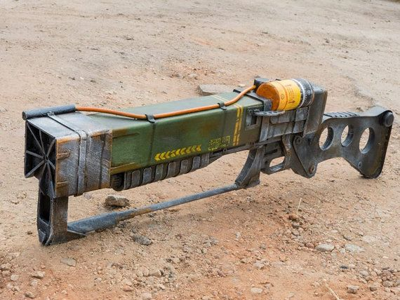 Fallout inspired Laser Rifle cosplay prop