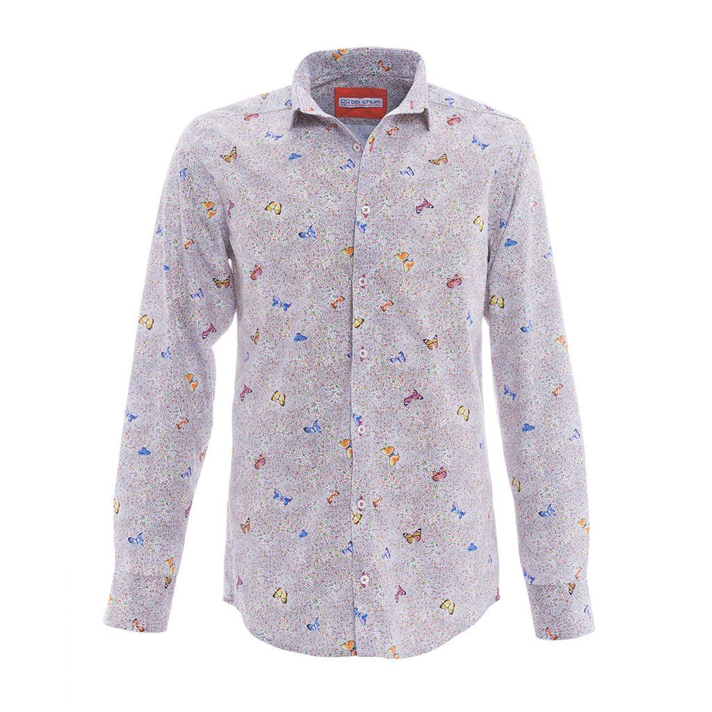 "BB Chum shirt ""Sunny Butterfly"""