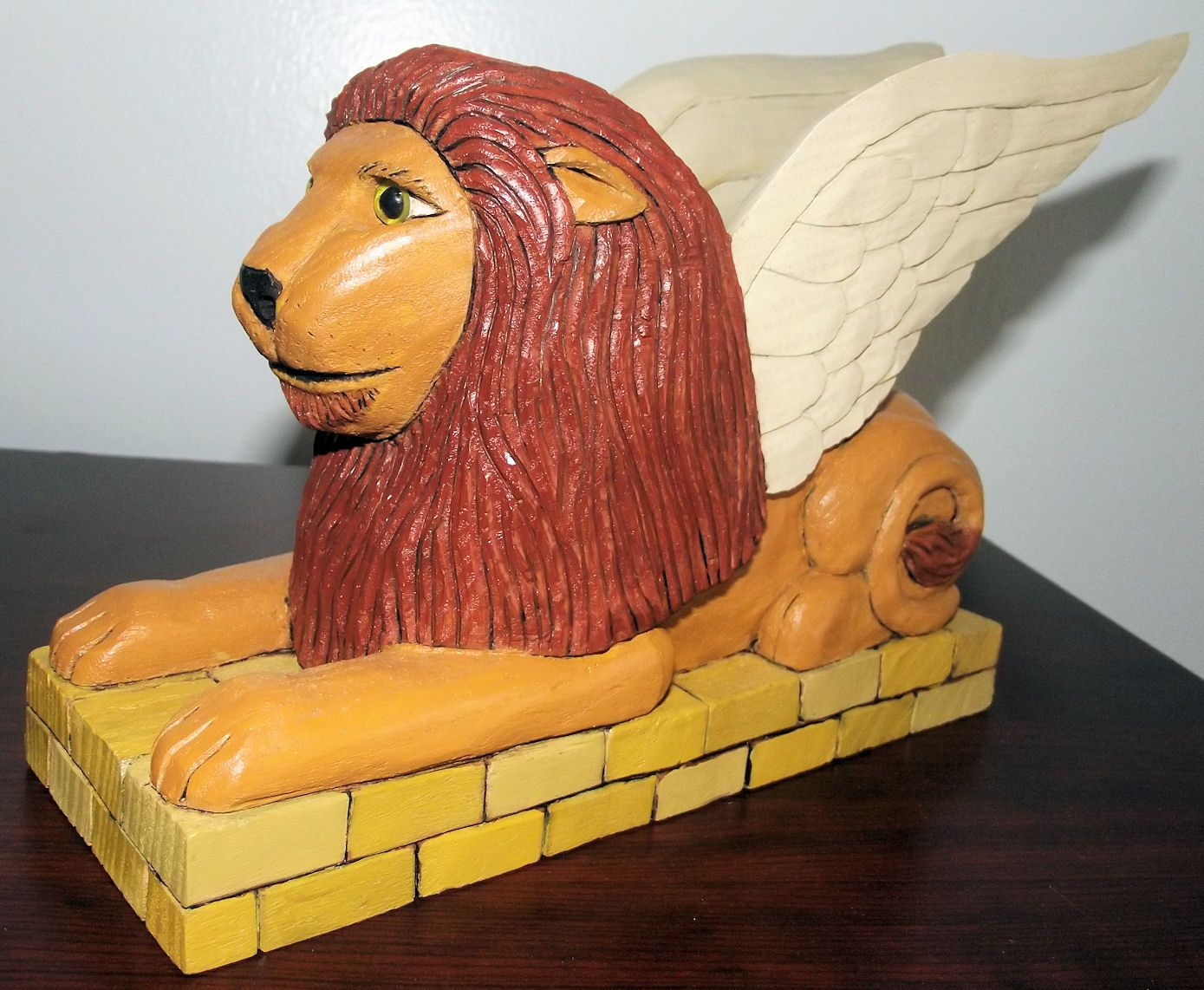 Carved by Kevin Patch from a Shawn Cipa pattern