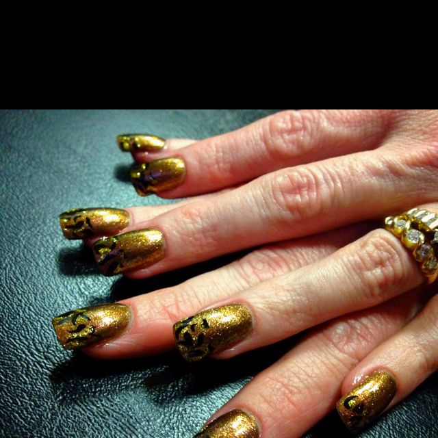 My nails done by Diane Valdez!!