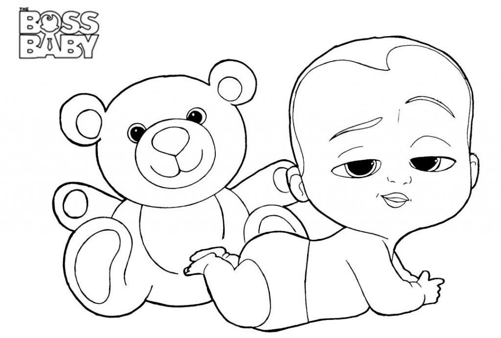 Boss Baby Coloring Pages   Baby coloring pages, Coloring ...