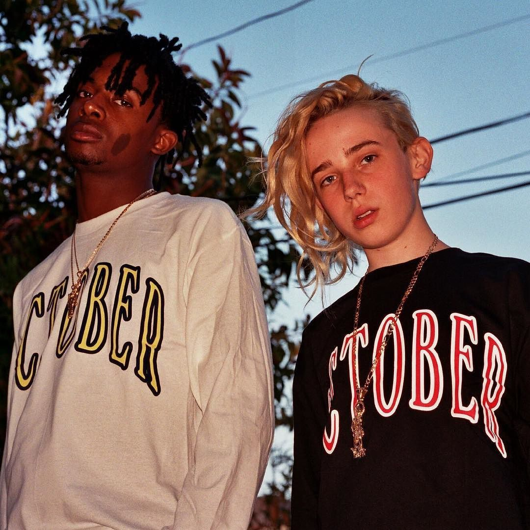 @welcomeovostore presents its spring/summer 2016 range highlighted by collegiate font sweatshirts and pink striped polos. Shot by @mrkevinmoon the editorial features @playboicarti @interlockshorts and @ianconnorsrevenge. Head to hypebeast.com to view the imagery in full. by hypebeast