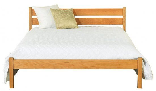 Vergennes Platform Bed American Made Real Solid Wood – Non Toxic Bedroom Furniture
