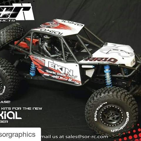 For Everyone Trying To Make Their Axial Bomber Rr10 Different Go Check Out Rc Cars Rc Cars And Trucks Gas Monkey Garage