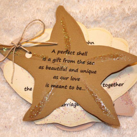 seashell wedding invitations Beach Theme Wedding Pinterest