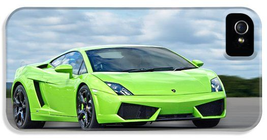 This Bright Green Mean Machine A Lamborghini Gallardo On The Racetrack  Makes A Great Cell Phone Cover. Available For IPhone4 Iphone5 Iphone6  Samsung Galaxy ...