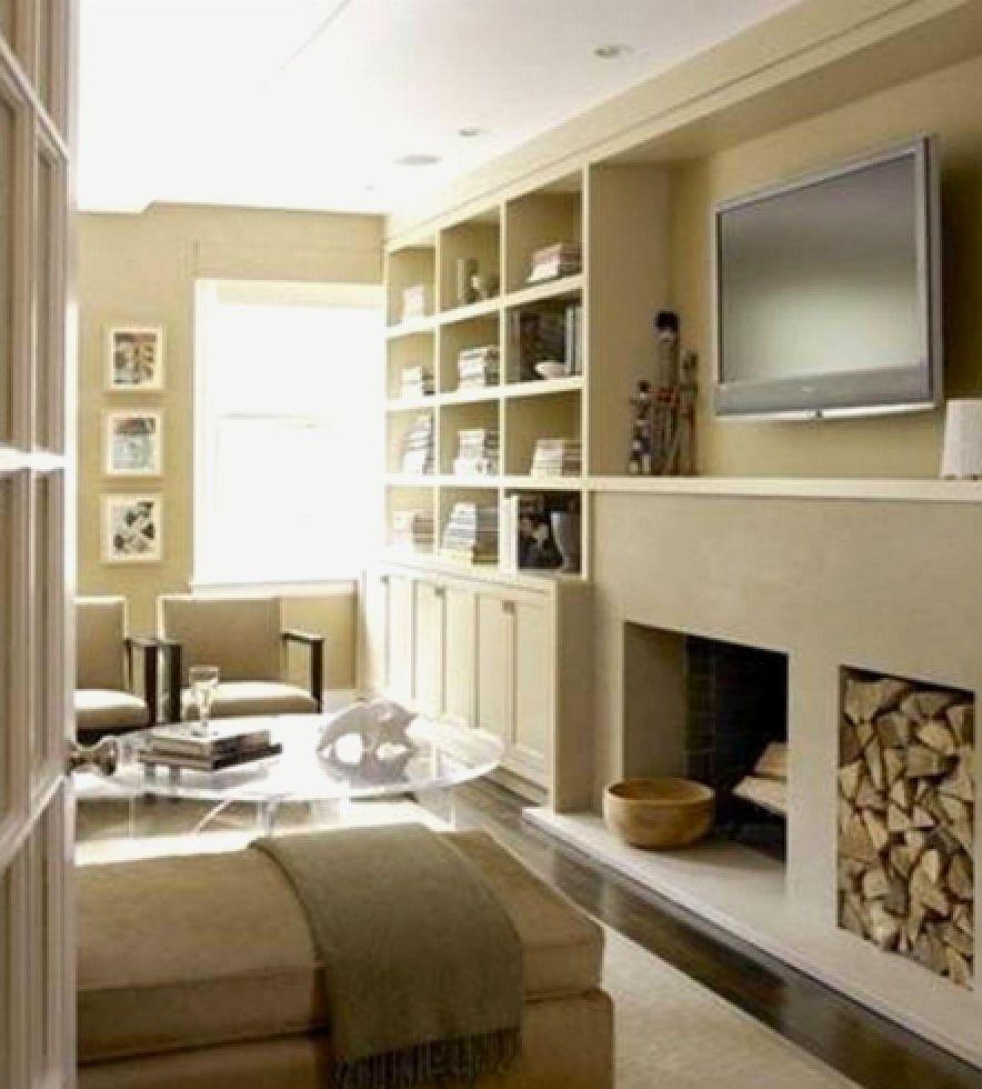 Kleines Wohnzimmer Mit Kamin Einrichten Minimalistische Haus