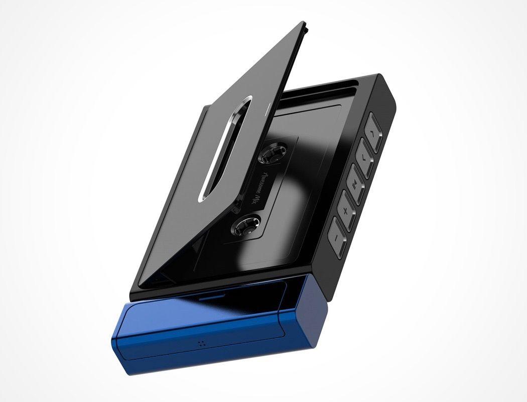 Traditional Styling Modern Technology Yanko Design Cassette Player Cassette Music Players