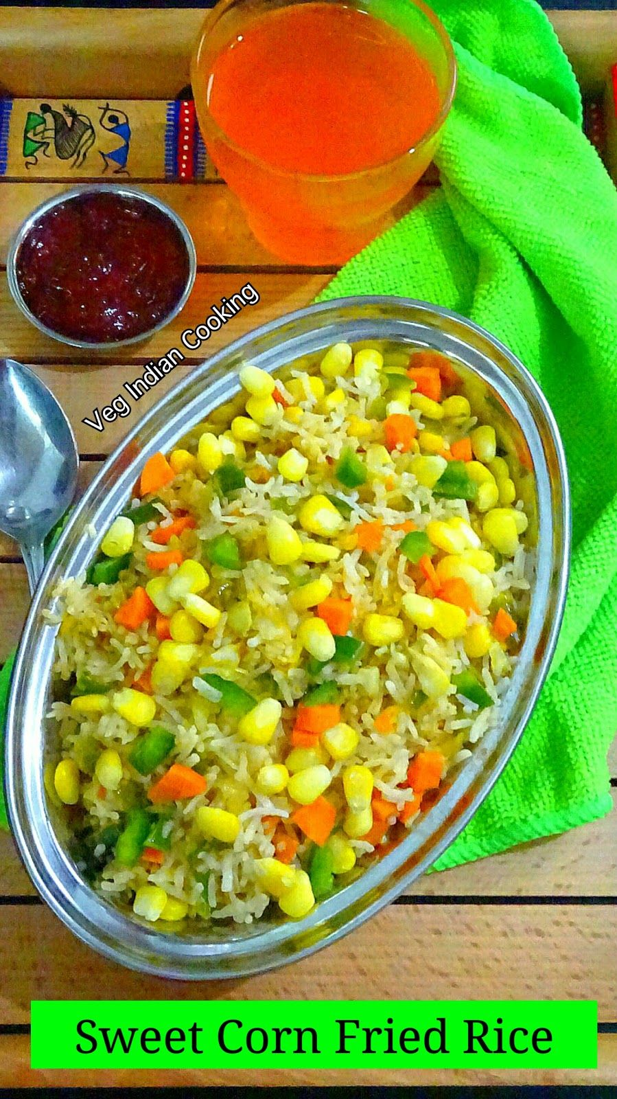 Sweet corn fried rice sweet corn fried rice is an indo chinese how to make sweet corn fried rice ccuart Gallery
