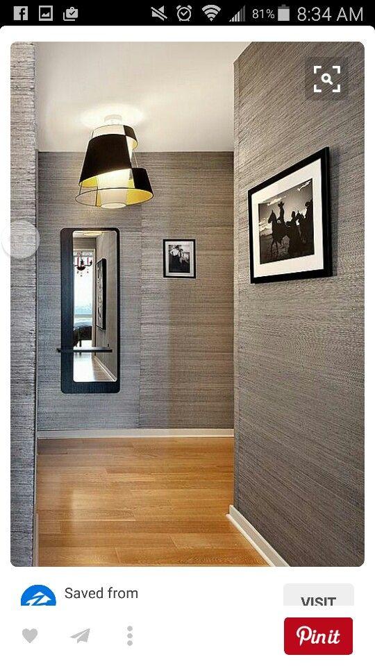 Basement   Wallpaper bedroom feature wall, Contemporary ...