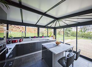 r sultat de recherche d 39 images pour exemple installation cuisine dans v randa v randa. Black Bedroom Furniture Sets. Home Design Ideas
