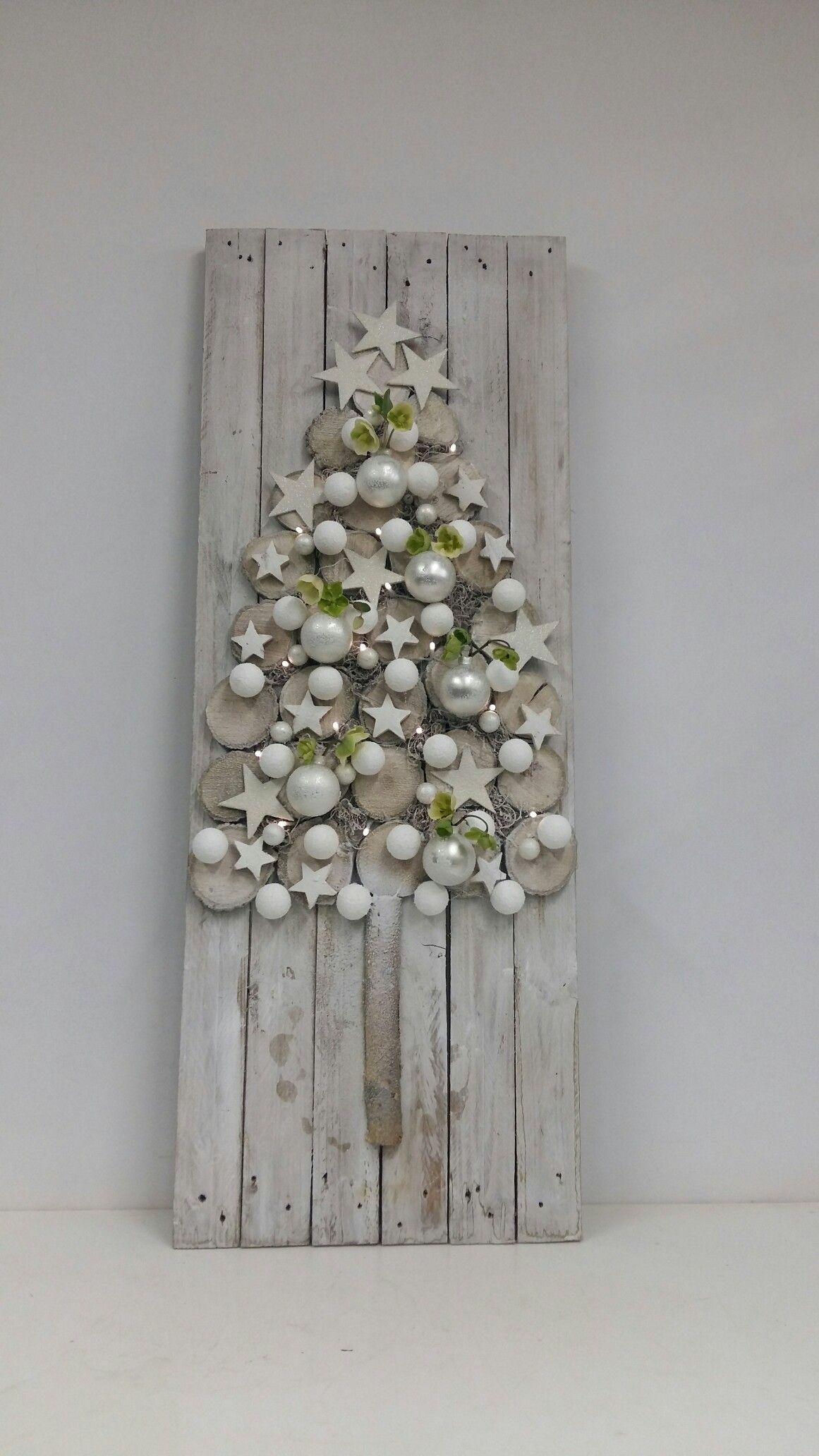 weiße Weihnachten - White Christmas decor