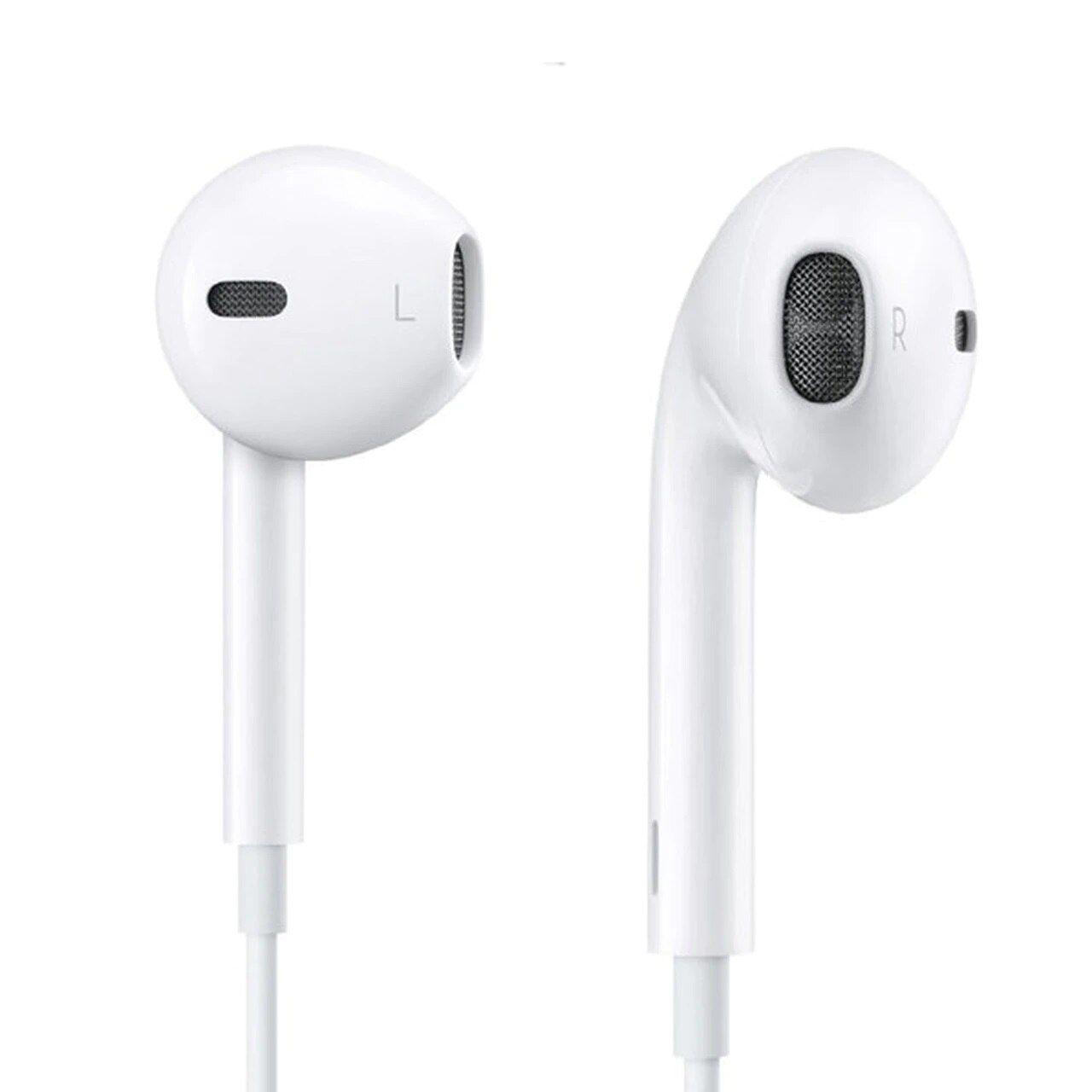 Apple Earphone 3 5 Mm Universal Headphones With Remote And Mic White Refurbished Apple Earphones Earphone Remote