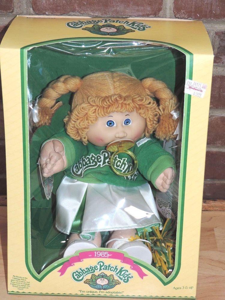 Vintage 1983-1984 Original Cabbage Patch Kids New in ORIGINAL Box with Cert.