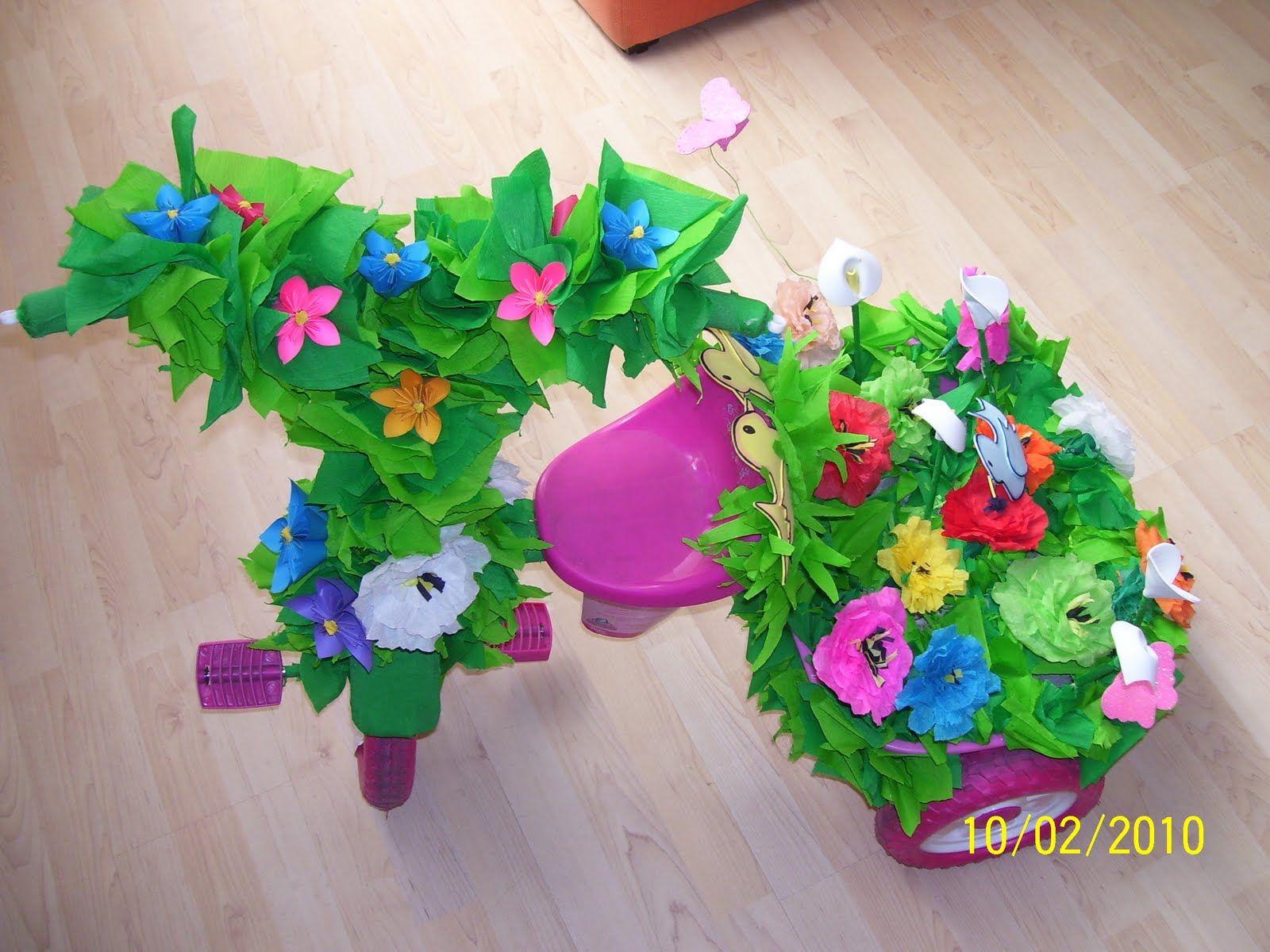 Monys monadas decoraci n de triciclos primavera ni s for Decoracion primavera infantil