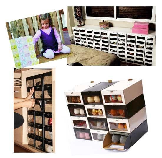 Organizar zapatos ideas para el hogar pinterest - Organizadores hogar ...