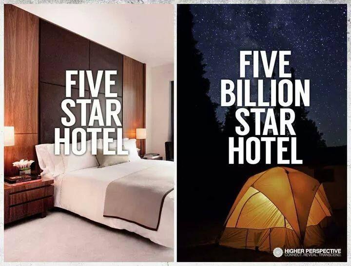 5 billion star hotel