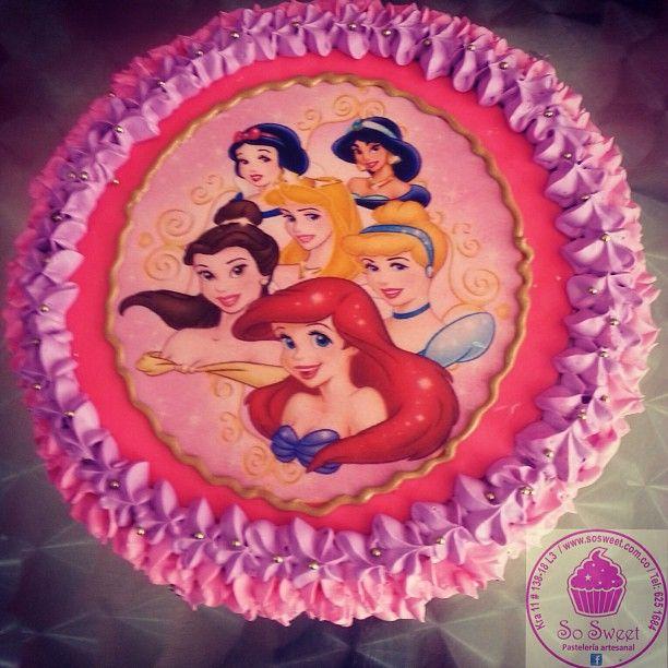 Para nuestra #Princesa de la casa y sus amigas de #Disney una #torta #Ponque o #Pastel #SoSweet de #PasteleriaSoSweet en #Bogota Cel: 317 657 5271 - (1) 625 1684