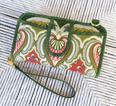 Sew the Walkabout Wristlet Wallet or Cross-body Bag | Pinterest ...