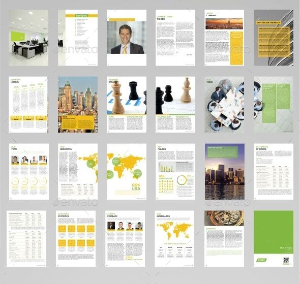 40 Best Corporate InDesign Annual Report Templates Annual - what are general report templates