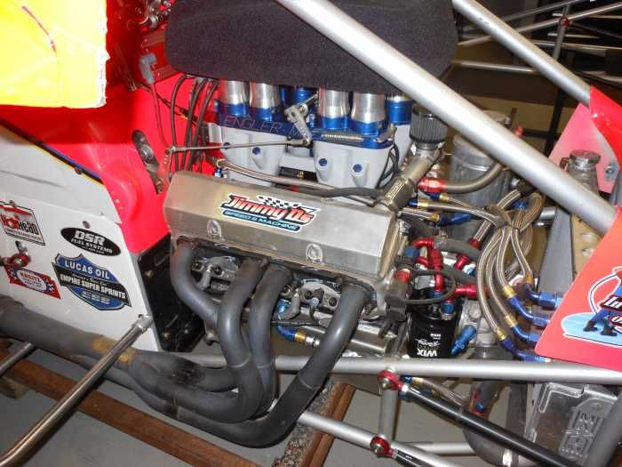 Jimmy D 360 Sprint Car Engine Engler Injection Makes 680 Horse On