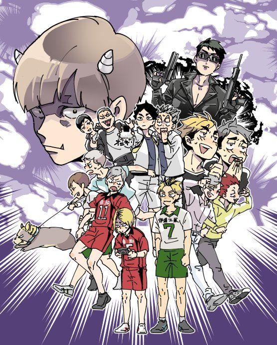 がけっぷち(gkpppc)さん Twitter Haikyuu anime, Haikyuu, Anime