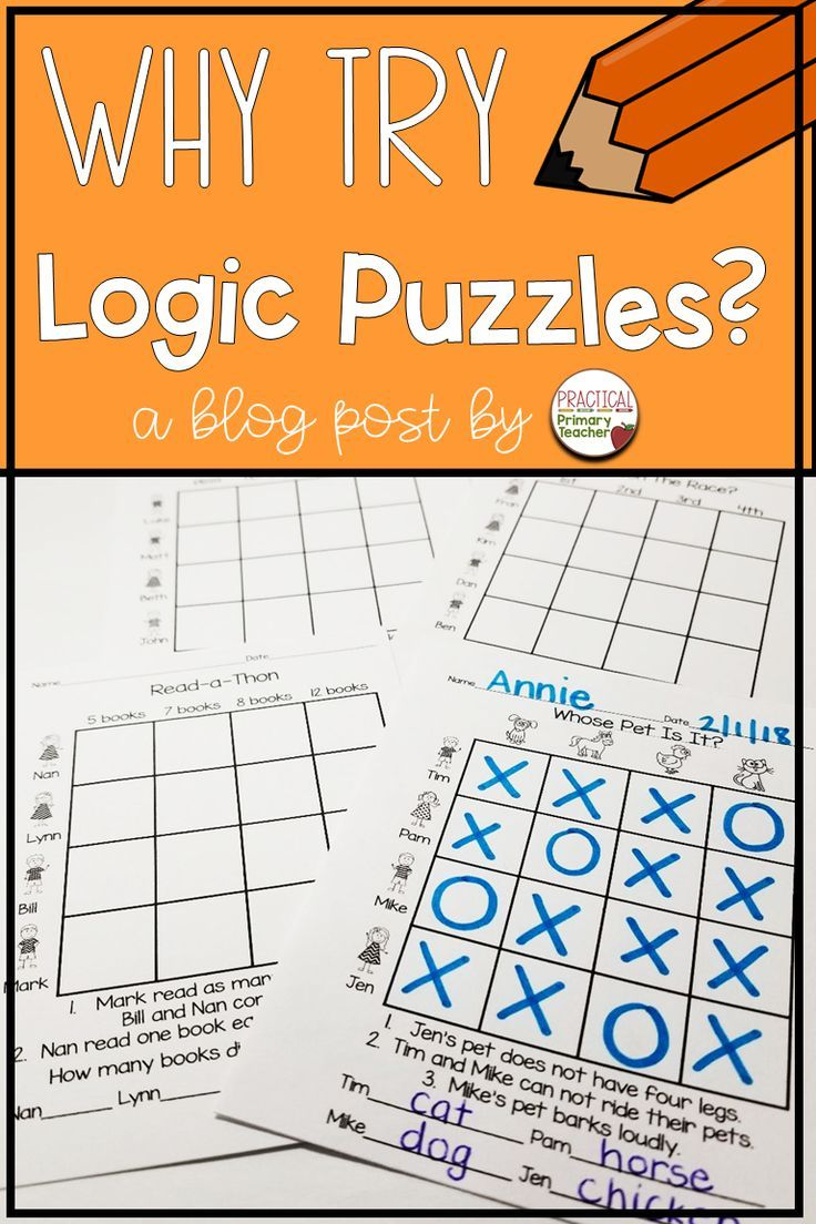 A Blog Post About Using Grid Logic Puzzles In The Primary Classroom Great For Critical Thinkin Critical Thinking Activities Math Enrichment Math Logic Puzzles [ 1104 x 736 Pixel ]