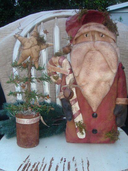 rustic Santa
