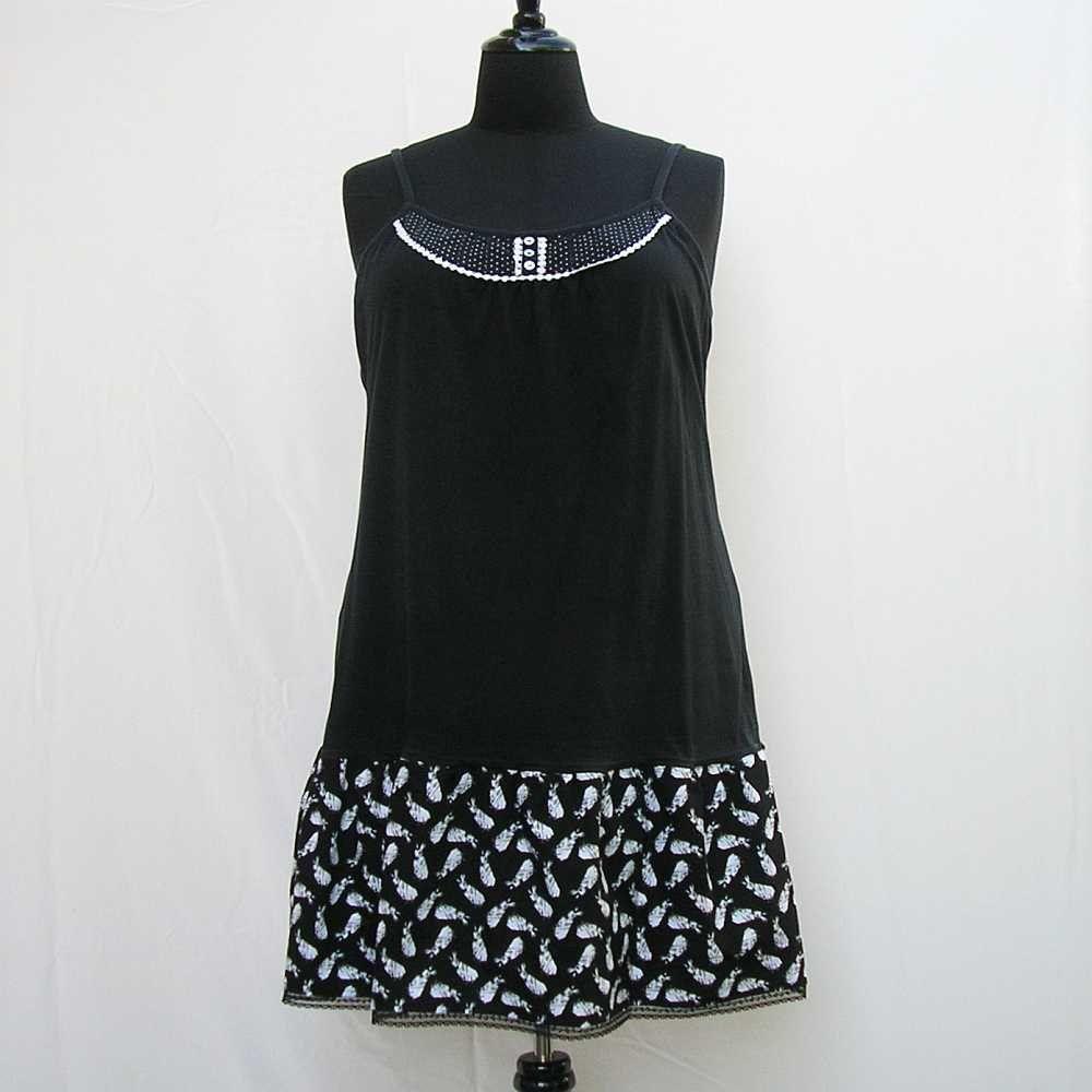 Sale Black Slip Dress Plus Size Dress White And Black Etsy Black Slip Dress Refashion Dress Fashion [ 1000 x 1000 Pixel ]