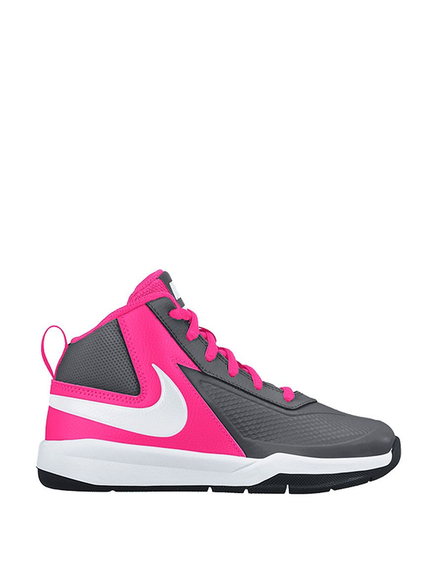 c219cce23856 Nike Team Hustle D7 Basketball Shoes – Girls 11-3