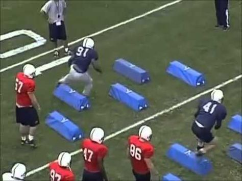 Linebacker Bag Drills - YouTube Tackle Football, Football Drills, American  Football, Sports, 355d2fe680