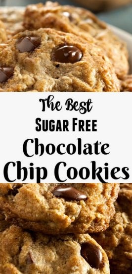 ★★★★★ 1191 reviews : #recipes #Chocolate >> The Recipe For The Best Sugar Free Chocolate Chip Cookies - >4< Best Sandwich #sugarfreerecipes