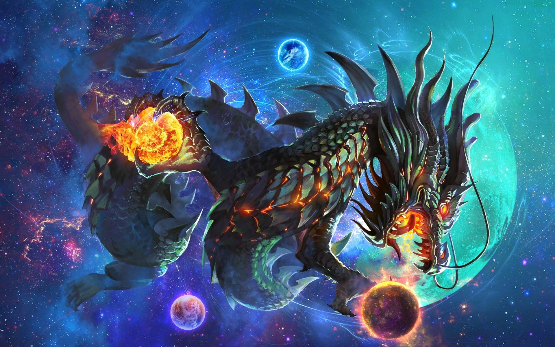 Fantasy Dragon Wallpaper
