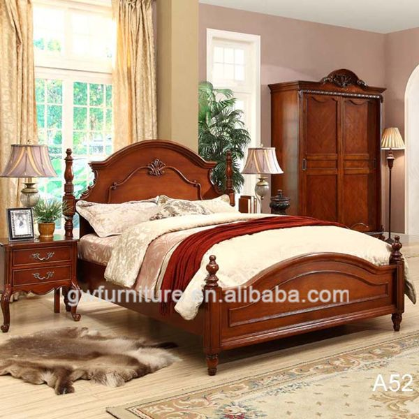 Hand Painted Antique Bedroom Setsnatural Wood Bedroom Sets  Ali Impressive Wood Bedroom Sets Inspiration Design