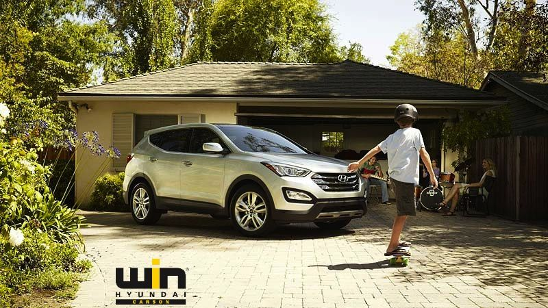 KEEPING We've loaded Santa Fe Sport with