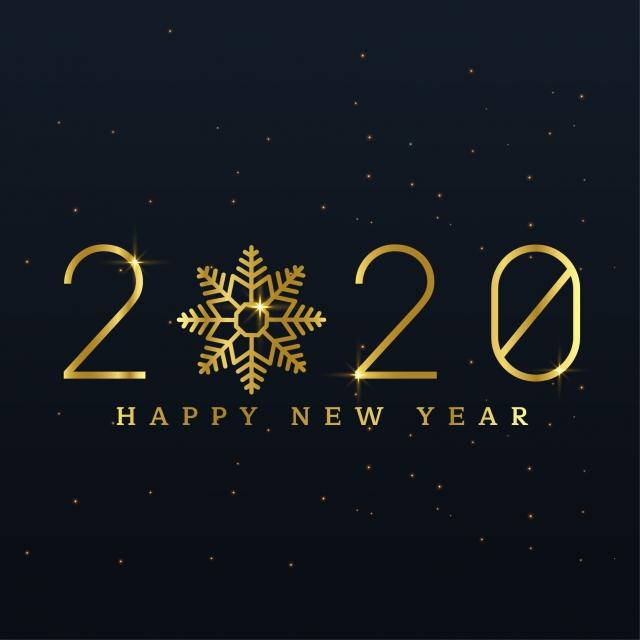 Cartes De Vœux En 2020 Et Heureuse Année Historique