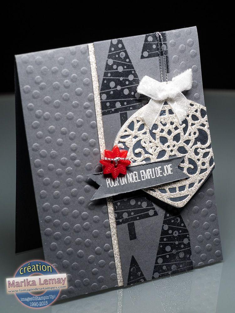 la magie des tampes cartes scrapbooking stampin 39 up carte de no l pinterest carte. Black Bedroom Furniture Sets. Home Design Ideas