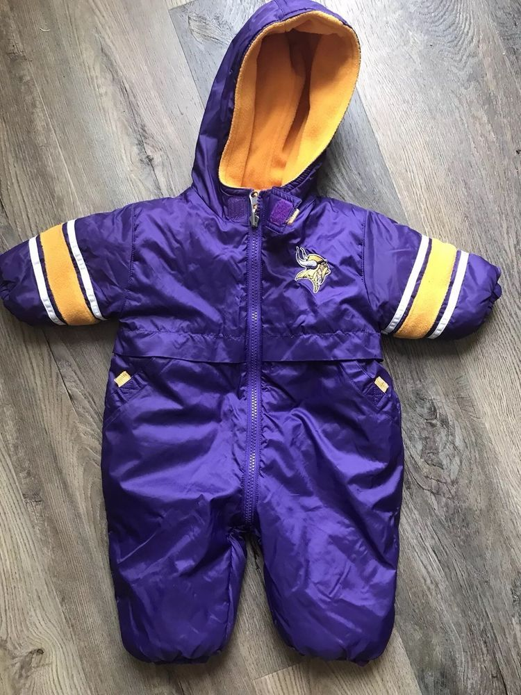 4d65f390b6f2 Vikings Baby Snow Suit - Reversable 3-6 Month old - VGC  fashion ...