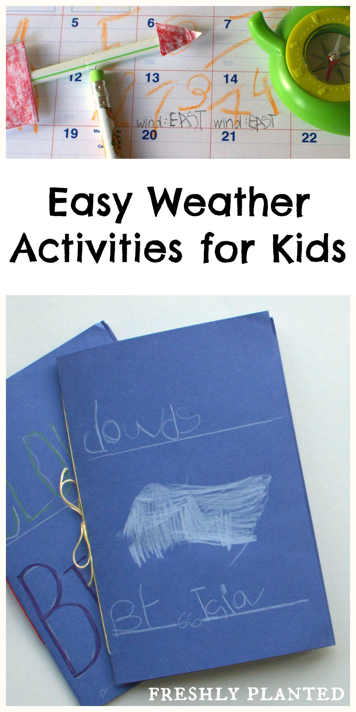 Easy Weather Activities For Kids Fun Hands On Lessons
