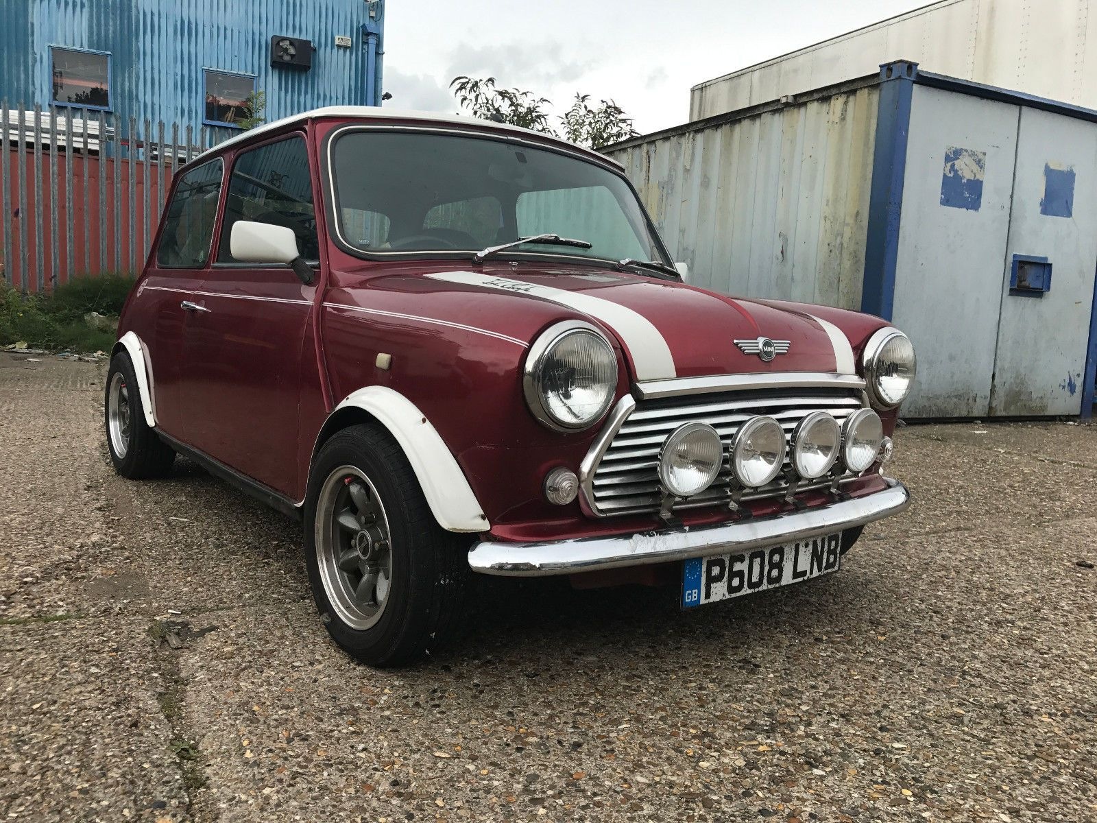 eBay: Classic Mini MPI 1.3 Very Clean Low Mileage with MOT Proof ...