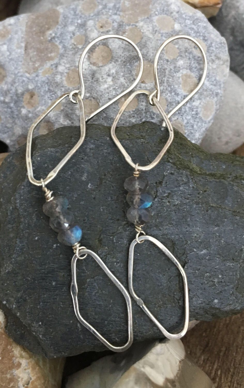 A personal favorite from my Etsy shop https://www.etsy.com/listing/506734996/diamond-drop-sterling-silver-labradorite