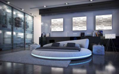 Led Schlafzimmer ~ Sofa dreams berlin wasserbett mezzo led komplett set jetzt