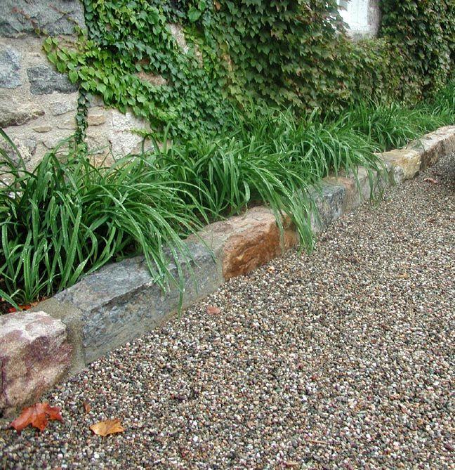 Natural Stone Edging Stone Edging Garden Edging Low Water Landscaping